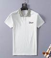 DIOR T-Shirt  Dior Oblique Motif Gradient White-to-Blue Jersey dior polo shirts 17