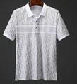 DIOR T-Shirt  Dior Oblique Motif Gradient White-to-Blue Jersey dior polo shirts 18