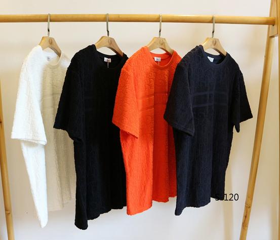 DIOR T-Shirt  Dior Oblique Motif Gradient White-to-Blue Jersey dior polo shirts 19