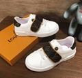 LV children's sneaker monogram trainers shoes LV kid sandal loafer mule