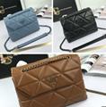 Prada Re-Edition 2005 nylon shoulder bags affiano lether handbag