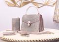 handbag Serpenti forever bag stone detail hobo cluth bag         wallet