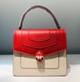 Bvlgari handbag Serpenti forever bag stone detail hobo cluth bag Bvlgari wallet
