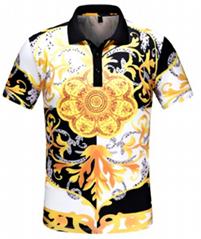 Versace tshirt man new versace t-shirt short sleeve fashion versace tops shirt