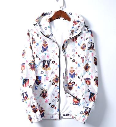 LV jacket monogram man outerwear louis vuitton hoody coat LV apparel