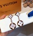 Louis Vuitton necklance LV earring lady bracelet lv jewelry gift box fashion  12