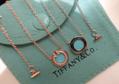 Tiffany&co.bracelet fashion bangle new earring lady tiffany neacklace gift box  6