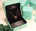 Tiffany&co.bracelet fashion bangle new earring lady tiffany neacklace gift box  7