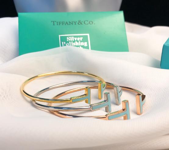 Tiffany&co.bracelet fashion bangle new earring lady tiffany neacklace gift box  13