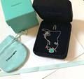 Tiffany&co.bracelet fashion bangle new earring lady tiffany neacklace gift box  15