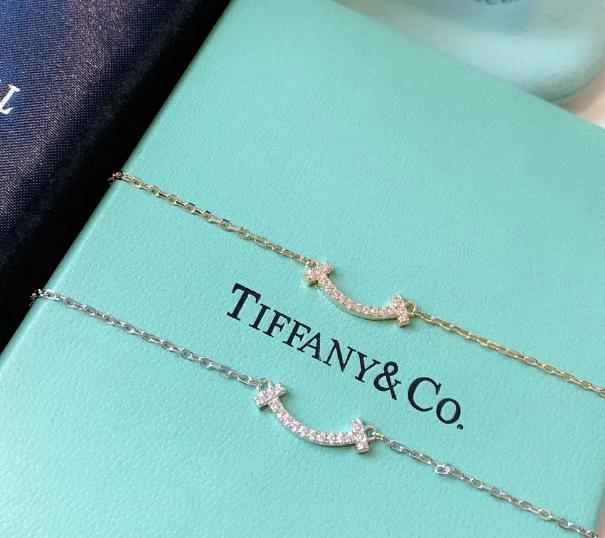 Tiffany&co.bracelet fashion bangle new earring lady tiffany neacklace gift box  1