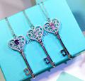 Tiffany&co.bracelet fashion bangle new earring lady tiffany neacklace gift box  18