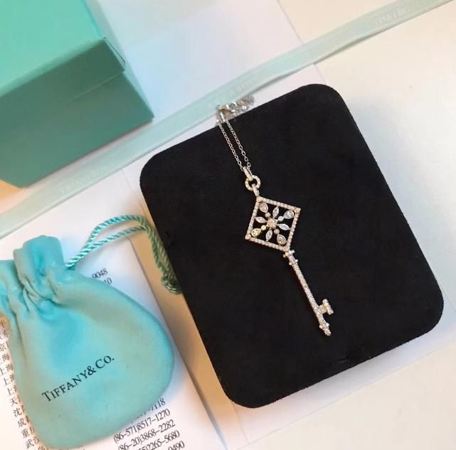 Tiffany&co.bracelet fashion bangle new earring lady tiffany neacklace gift box  20