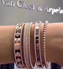 Van cleef & arpels necklaces and pendants van bracelets ring earring