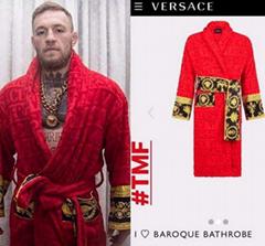 bath towel cutton washcloth jacquard versae bathrobe black home barocco