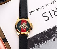 Gucci watch golden grip G-timeless Ronda quartz movement with box