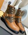 LV ANKLE BOOT STAR TRAIL WONDERLAND FLAT RANGER BACK LV Silhouette Ankle Boot