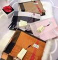 Burberry scarf neckerchief burberry muffler woman scarves with box