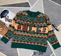GUCCI sweater wool top with GG motif gucci jacket pants gucci jumper swesatshirt
