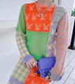 knitwear Monogram Pullover    sweater