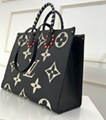 LV totes Crafty OnTheGo GM LV bag SINCE 1854 ONTHEGO GM LV HANDBAG