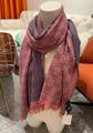 Gucci scarf GG wool jacquard scarves cotton stole GG web wool stole gucci muffle