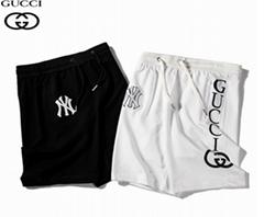 shorts technical jersey man stripe cotton       jogging pant acetate