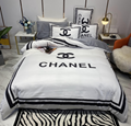 LV Four-piece bed sheet high-quality cotton four-season sheets bedding sets
