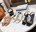 VALENTINO sandals ockstud Rolling Noir ankle strap LADY Rockstud pump shoes