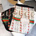 Gucci scarf signature neckerchief gucci muffler GG knitted wool shawl silk scarf