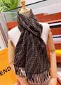 Fend scarf neckerchief fendi cape muffler wool shawl silk scarf original wrap