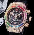 Hulbot watch automatic swiss quariz watch diamonds manual hulbot matic watch
