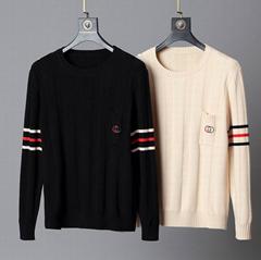 sweater wool top with GG printed       cardigan       jumper sweatshirt