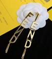 wholesale Fendi necklace stylish bracelet feindi brooch woman ring fendi earring