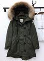 Top quality Moncler down jacket woman coat mink cap warm coat winter outwear