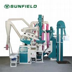 Rice milling machine 15SA rice processing equipment