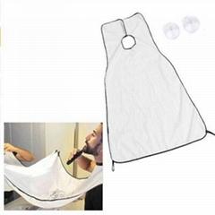 Men's bath beard shaved apron towel keep small beard cleaning apron beard storag