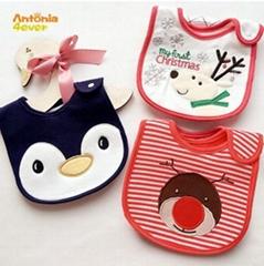 Baby Bibs 100% cotton waterproof Bandana baby girls  children bibs and Burp clot