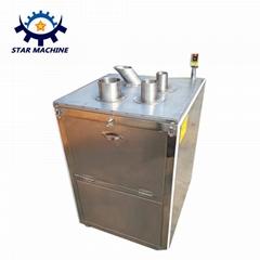 Stainless steel banana chips slicing making equipment machine
