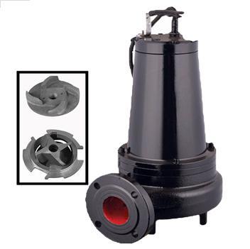 沁泉 WQ高效无堵塞双绞刀切割式潜水排污泵 1