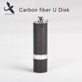Deluxe 100% real new U disk 32GB carbon fiber U disk storage in USB Flash Drives