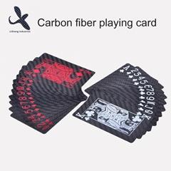 custom 3k carbon fibre playing cards carbon fiber poker carbon cards
