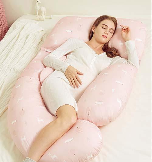 Breathe freely memory foam body pillow for pregnant woman 1