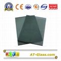 4mm 5mm Dark grey Reflective float glass