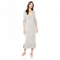 Women Custom Cashmere Wool Knit Long