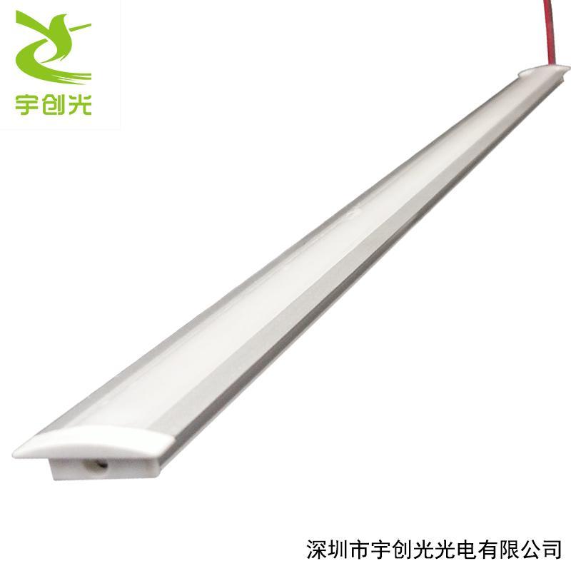 LED超薄2公分嵌入式帶邊開槽層板櫥櫃燈帶 4