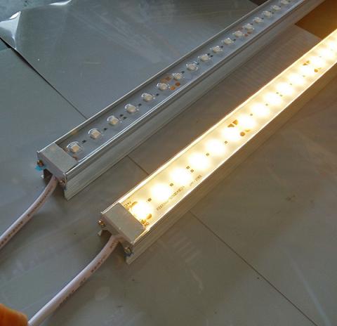戶外防水洗牆燈貼片5050帶透鏡LED硬燈條 3