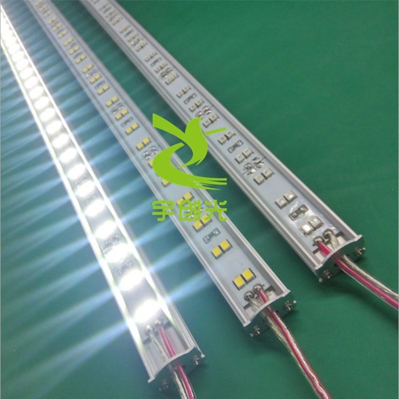 櫥櫃展櫃線條燈12V節能雙排LED144燈硬燈條 3