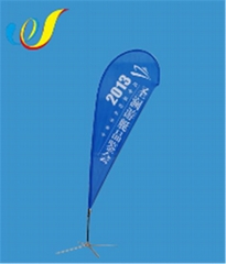 China High quality cheap customized Display Flag-Teardrop Banners manufacture