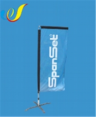 China customized high quality cheap Display Flag-Rectangle Banners wholeasale